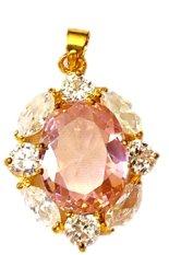 Beli Naroosouve Liontin Batu Kristal Soft Pink Proses Kredit Indonesia