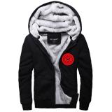 Harga Naruto Jaket Musim Dingin Hoodie Flanel Mantel Kaus Baru Hadiah Xmas Hitam Intl Branded