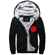 Spesifikasi Naruto Jaket Musim Dingin Hoodie Flanel Mantel Kaus Baru Hadiah Xmas Hitam Intl Terbaik