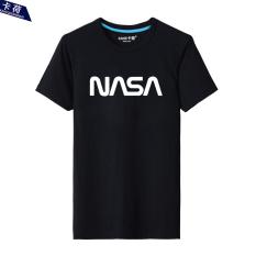Beli Nasa Katun Laki Laki Leher Bulat Bottoming Kemeja Yard Besar T Shirt Hitam Oem Dengan Harga Terjangkau