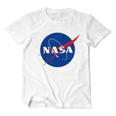 NASA Katun Penerbangan Lengan Bang Pendek Penyelamatan Kaus (Putih (Badan Melindungi Diri dari NASA))