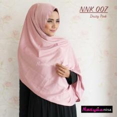 Nasywanisa Pasmina Satin NNK007 - Dusty Pink