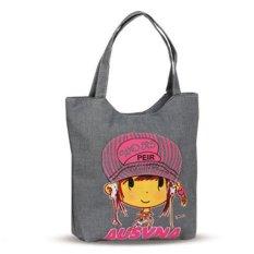 Toko Nataria Brand Tote Bag Wanita Nr39674 Grey Terlengkap