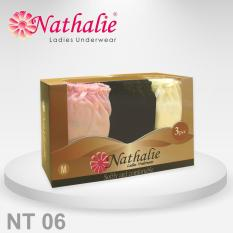 Nathalie Underwear Celana Dalam Midi Wanita Dewasa NT 06 1 Pack Isi 3
