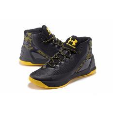 Harga Asli Stephen Curry 3 Elite Golden State Warriors Pria Outdoor Basketball Sepatu Intl Merk Native