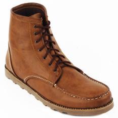 Jual Navara Ankle Boots Brown Navara Original