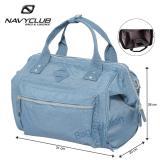 Harga Navy Club Tas Selempang Kasual Trendy Tas Pria Tas Wanita Hand Bag Eibe Biru Muda Termahal