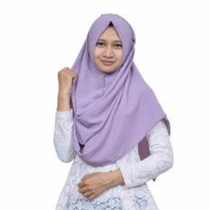 Review Nazula Hanna Hijab Instan Purple Di Dki Jakarta