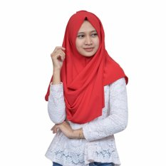 Promo Nazula Hanna Hijab Instan Red Nazula Terbaru