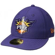 NBA Phoenix Suns Bevel Dewasa Tim Low Profil 59 Dilengkapi, 7 3/8, Ungu-Intl