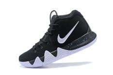 NBA Sepatu Kyrie 4 Asli Sepatu Olahraga 2014 NBA Semua-Bintang MVP Resmi Sneakers Hitam Non-slip- internasional