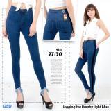 Beli Ncr Celana Jegging Jeans Wanita Hw Rumbi Dark Blue Online Murah