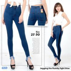 Top 10 Ncr Celana Jegging Jeans Wanita Hw Rumbi Dark Blue Online