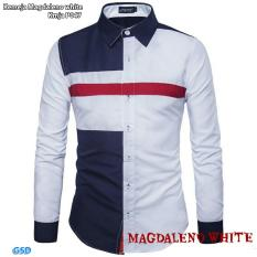 Tips Beli Ncr Fashion Kameja Pria Kameja Magdaleno White