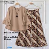 Harga Ncr Setelan Baju Wanita Celana Kulot Baju Batik Blouse Wanita St Kulot Shofi Mocca Di Jawa Barat