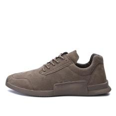 Harga Ndz Suede Kulit Olahraga Shoes【High Kualitas Cepat Delivery】 Brown Intl Online