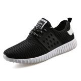 Top 10 Baru Mens Sneaker Sepatu Korea Sepatu Kasual Rendah Bertumit Sepatu Untuk Pria Hitam Online