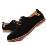 Beli Kulit Asli Pria Baru Sepatu Kasual Pria Bisnis Sepatu Tide Merek Sepatu Casual Pria Plus Ukuran 38 48 Hitam Secara Angsuran