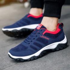 Baru Udara Bantalan Menjalankan Sepatu untuk Pria Bernapas Sport Sepatu Pria Sneaker (Ukuran Maksimal: 45)-Internasional