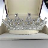 Baru Kristal Antik Aksesoris Rambut Bando Mahkota Tiara Ratu Prom Perak Untuk Pernikahan Internasional Oem Diskon 30