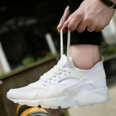 Miliki Segera Baru Kedatangan 2017 Air Ultra Zapatos Athletic Outdoor Sneakers Pria Unisex Pasangan Sneakers Sepatu Lari Putih