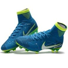 Jual Baru Kedatangan Football Boots Pria Tinggi Ankle Fg Superfly Soccer Sepatu Original Kids Outdoor Training Boots Cleats Red God Grosir Intl Oem Online
