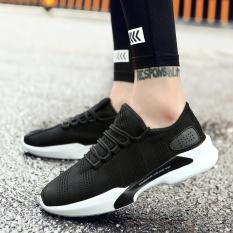 Jual Baru Kedatangan Pria Ringan Menjalankan Sepatu Siswa Muda Fashion Olahraga Sepatu Pria S Leisure Sport Sepatu Hitam Intl Termurah