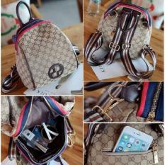 New Arrival Best Seller Qq810239 Bag Brown Ransel Jinjing Tas Import Wanita Murah Korea Style Multi Murah Di Indonesia