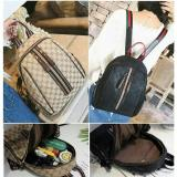 Spesifikasi New Arrival Best Seller Qq810295 Bag Ransel Brown Black Tas Import Wanita Murah Korea Style Terbaru