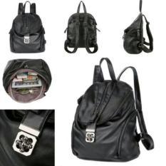Beli New Arrival Best Seller Qt1409 Black Tas Import Wanita Murah Korea Style Seken