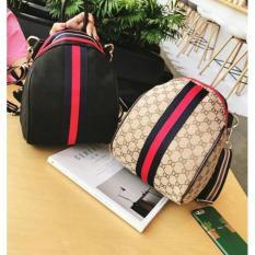 Beli New Arrival Best Sellerqq810244 Bag Black Brown Ransel Slempang Tas Import Wanita Murah Korea Kredit