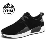 Toko New Arrive Men Fashion Breathable Suede Casual Shoes Skateborading Shoes Canvas Sneakers Intl Yang Bisa Kredit