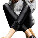 Spesifikasi Baru Gugur Musim Dingin Wanita Stretch Slim Shiny Celana Pensil Gaya Korea Beludru Tebal Celana Legging Untuk Wanita China Yang Hangat And Ukuran Better 3Xl Hitam Beludru Internasional Murah Berkualitas