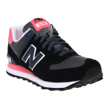 Miliki Segera New Balance 574 Core Plus Sneakers Hitam Pink