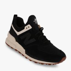 New Balance 574 Suede Heather Women's Lifestyle Shoes - Hitam