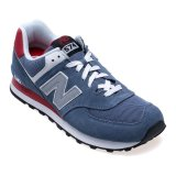 Jual New Balance Lifestyle 574 Coreplus Men S Sneakers Abu Abu Lengkap