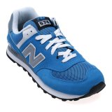 New Balance Lifestyle 574 Coreplus Men S Sneakers Biru Asli