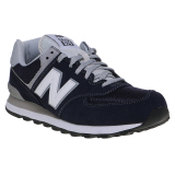 Toko New Balance Lifestyle 574 Vintage Men S Shoes Dark Navy New Balance Indonesia