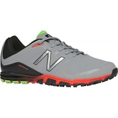 Keseimbangan Baru Mens Minimus Golf Shoe, Grey/Orange, 9.5 D KAMI-Internasional