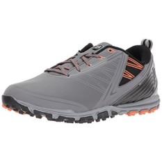 Keseimbangan Baru Mens Minimus SL Golf-Sepatu, Abu-abu/Oranye, 13 2E 2E KAMI-Internasional