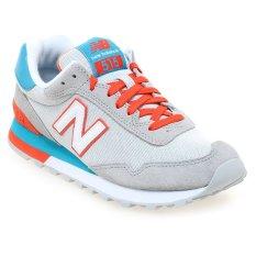 Diskon New Balance Wl515Ahb Low Cut Sneakers Wanita Abu Abu Coral