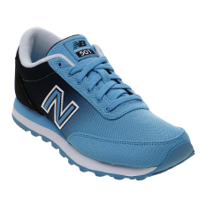 Jual New Balance Women S Lifestyle 501 Casual Shoes Biru Hitam Indonesia Murah