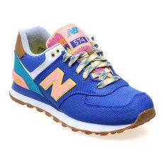 Spesifikasi New Balance Women S Lifestyle Explorer Ml574 Sepatu Sneakers Wanita Biru Yang Bagus Dan Murah