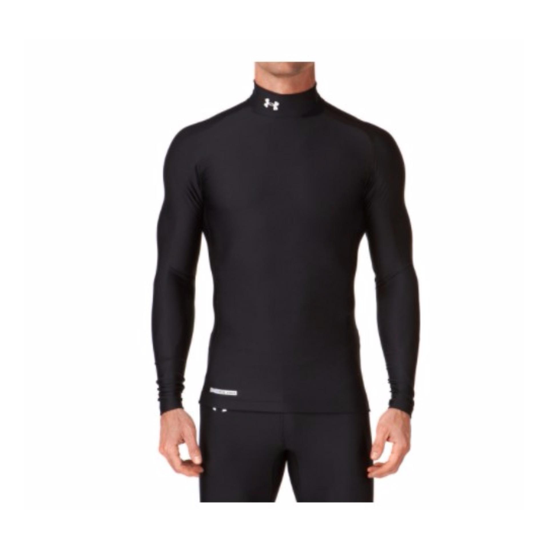 Baselayer   Manset Under Armour Heat Gear Black terbaik murah - Hanya  Rp61.948 dfe1d89b76