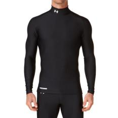 Situs Review New Baselayer Manset Under Armour Heat Gear Black