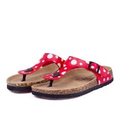 Pantai Baru Cork Flip Flops Slipper Musim Panas Kasual Wanita Campuran Warna SLIP ON Sandal Flat Sepatu (Multicolor-13) -Intl