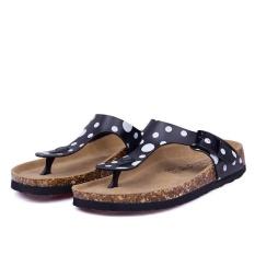 Pantai Baru Cork Flip Flops Slipper Musim Panas Kasual Wanita Campuran Warna SLIP ON Sandal Flat Sepatu (Multicolor-8) -Intl