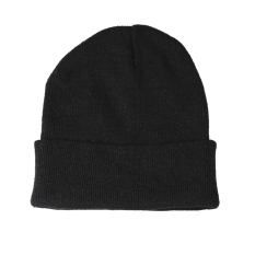 Jual New Black Soft Knitted Beanie Fancy Acrylic Ski Hat Plain Warm Men Ladies Unisex Intl Online