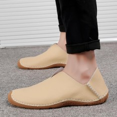 Ulasan Lengkap Baru Gaya Inggris Sepatu Pria Sepatu Kasual Bernapas Bernapas Sepatu Malas Kaki Sepatu Modis Lembut Bersol Shoes Intl