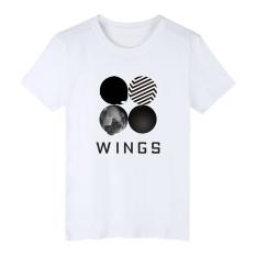 Harga Baru Bts Musim Panas Lengan Pendek O Neck Tee Shirt Wanita Hip Hop Bangtan Boys Desain Cetak Lepas Mengenakan T Shirt Kasual Tee 001 Putih Intl Yang Murah Dan Bagus
